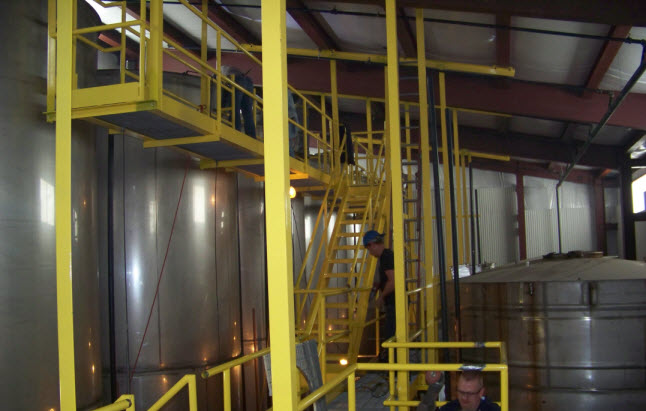 CH Metal Fabricators design build, structural fabrications, stainless steel, catwalks, conveyors, food processing, agricultural, beverage processing, new york, ontario, pennsylvania, rochester, syracuse, geneva, buffalo, canandaigua.